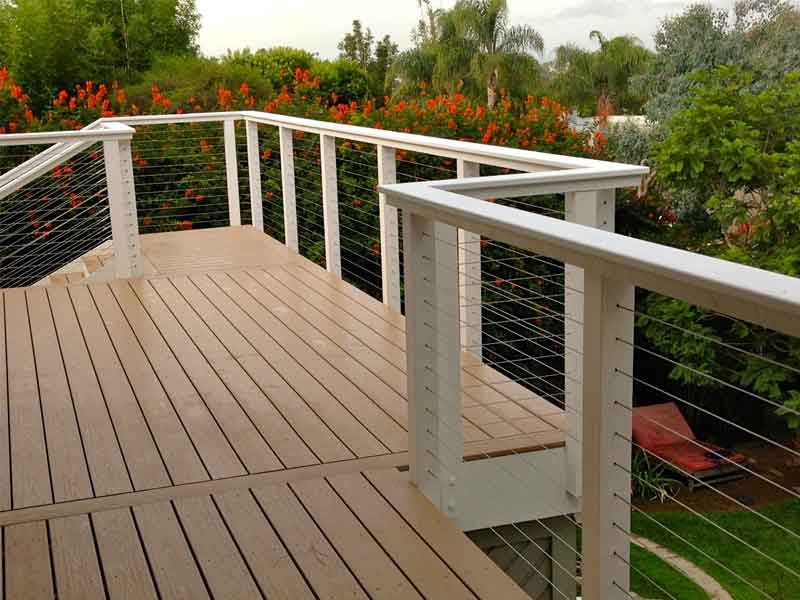 la cable railings quality cable railing systems. Black Bedroom Furniture Sets. Home Design Ideas